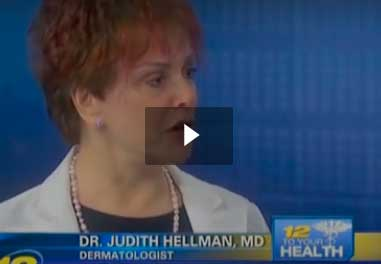 Watch Video: Dr. Hellman's Features Adult Acne on News 12 New Jersey
