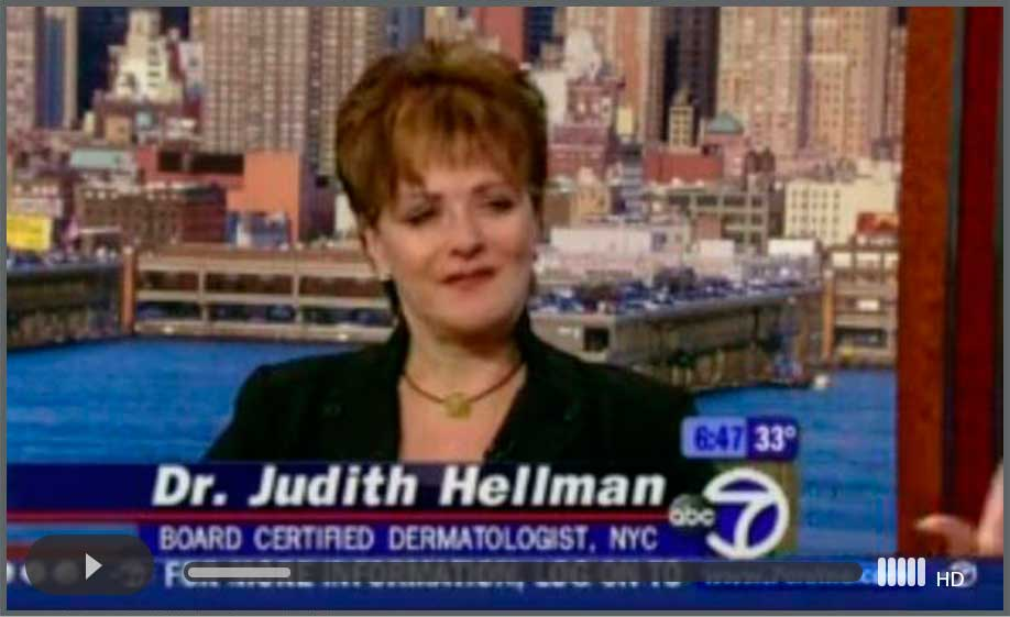 Dr. Hellman featured on ABC News speaking about Acne Lasers