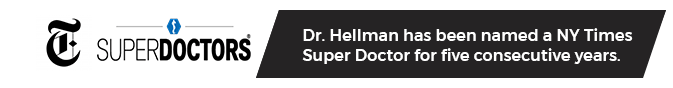 SuperDoctors | Not once ..twice … three years Consequently Dr. Hellman named NY Times Superdoctor