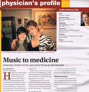 dermatologytime music to medicine
