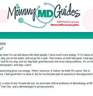 The Mommy MD Guides: Dr. Hellman speaks about identifying energy boosters