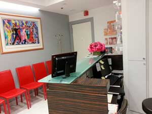 Office: Dr. Judith Hellman, M.D. - reception room
