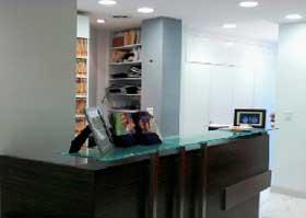 Patient information|Office Dr. Judith Hellman: reception room