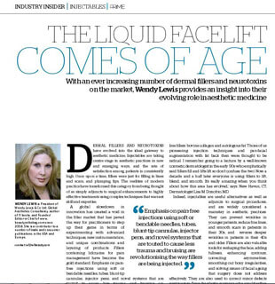 Prime Journal - Dr. Hellman discusses the benefits of using Radiesse, a volume filler for facial contouring.