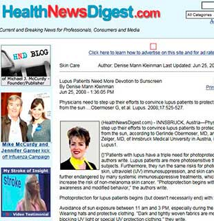 Health News Digest