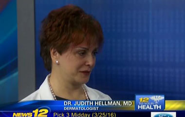 Watch Video: Dr. Hellman's Features Anti-Aging on News 12 New Jersey